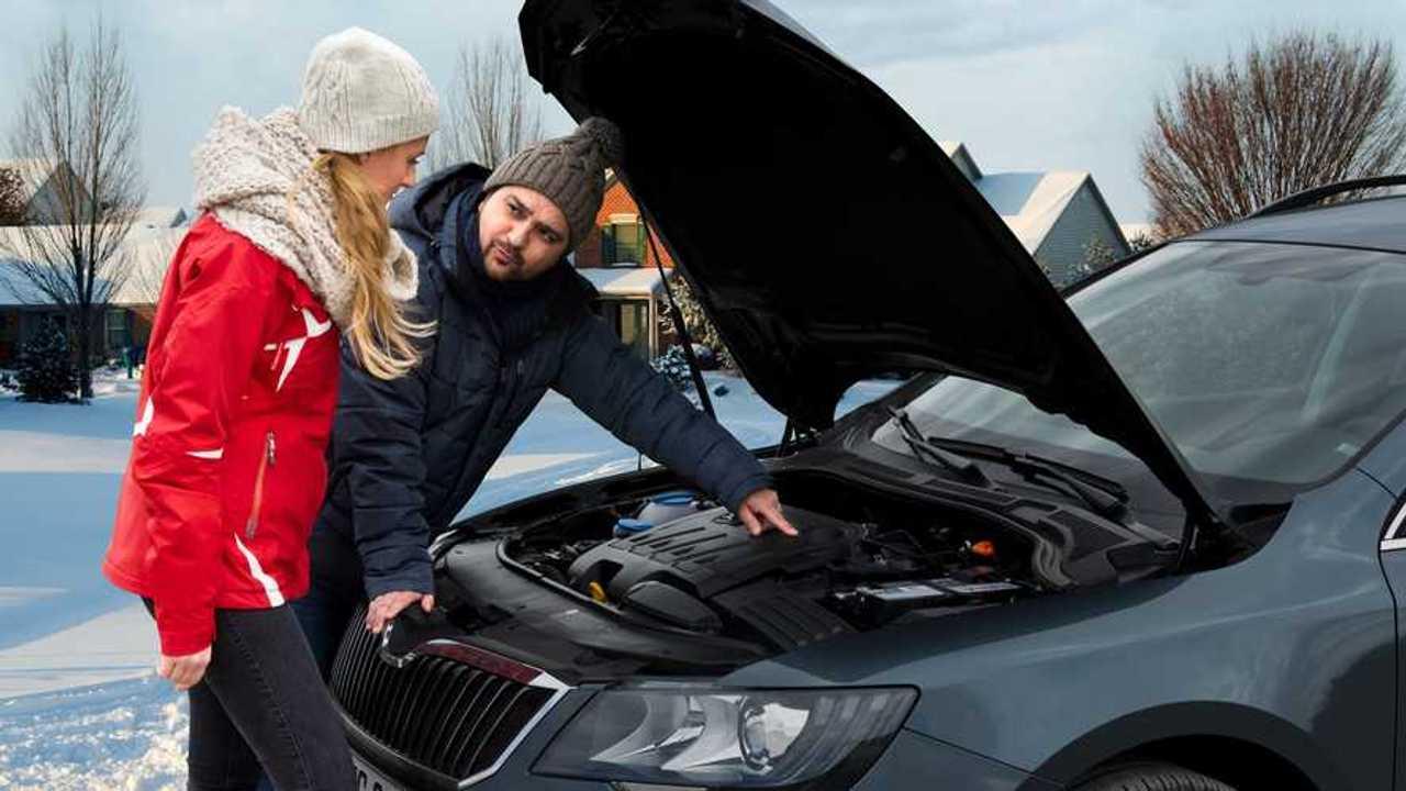 Batterietest im Winter (Johnson Controls) 2019