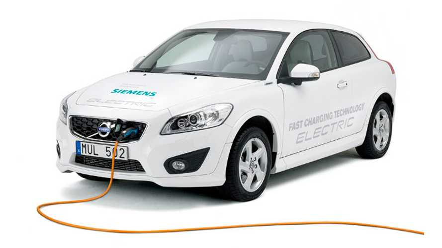 Volvo C30 Electric Gets Serious Upgrade to Motor; Adds 22-kW Brusa Charger
