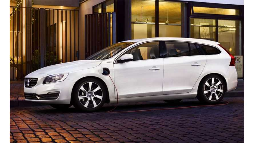 2014 Volvo V60 Diesel Plug-In Hybrid Headed to US?