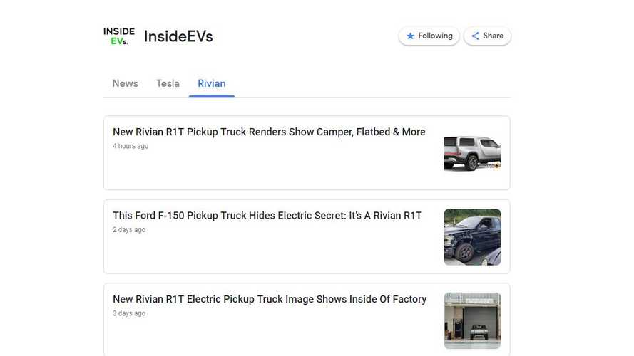 Follow InsideEVs On Google News To Stay Informed On The Go