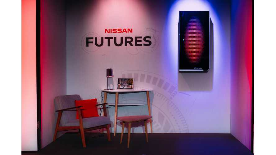Nissan Introduces Its Own Powerwall: