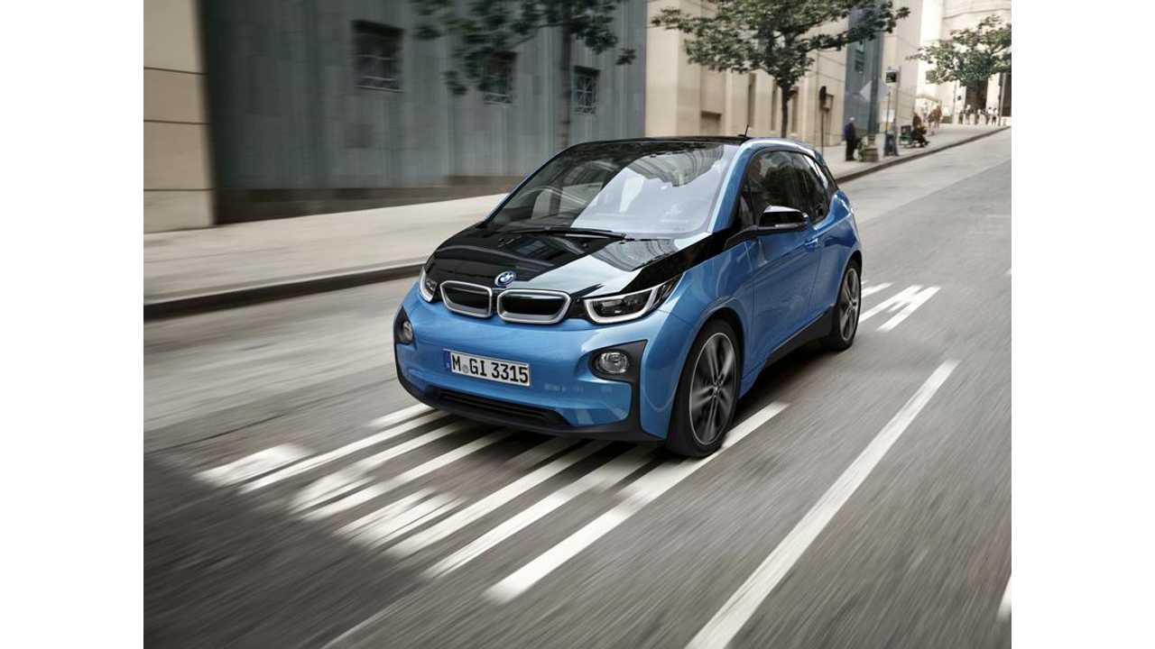 New 2017 BMW i3 In Protonic Blue Out For A Spin