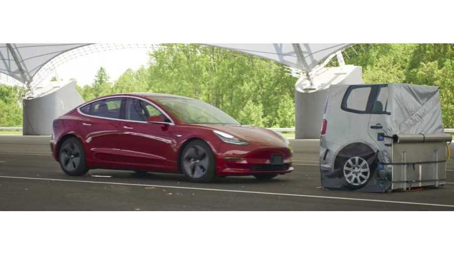 Tesla Model 3 Initial Crash Test Results Released By IIHS