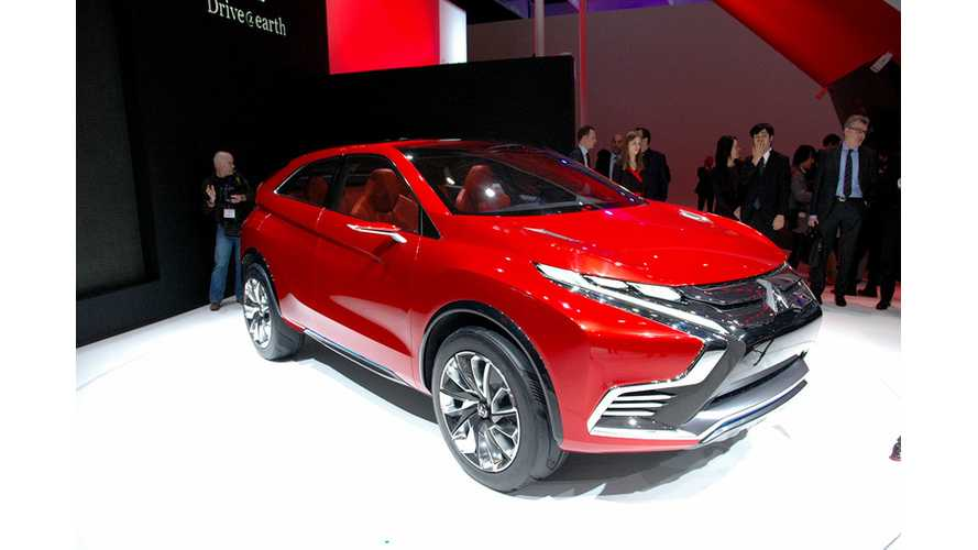 Mitsubishi Concept XR PHEV II – Live Images