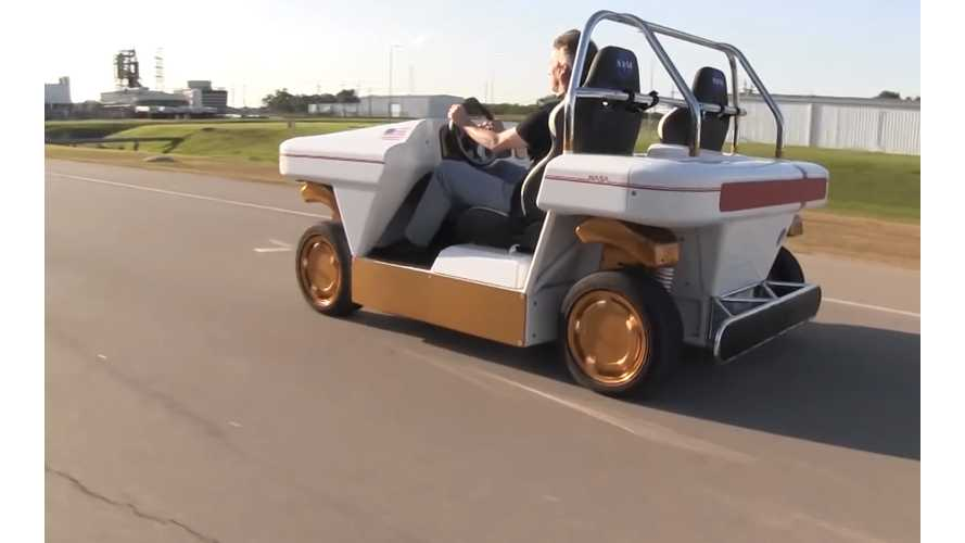 NASA's Electric Modular Robotic Vehicle is Everything - Video