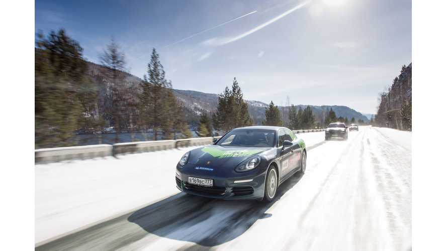 Porsche Plugs Into Siberia With 12-Day, 7,000 KM Journey In Cayenne & Panamera S E-Hybrids