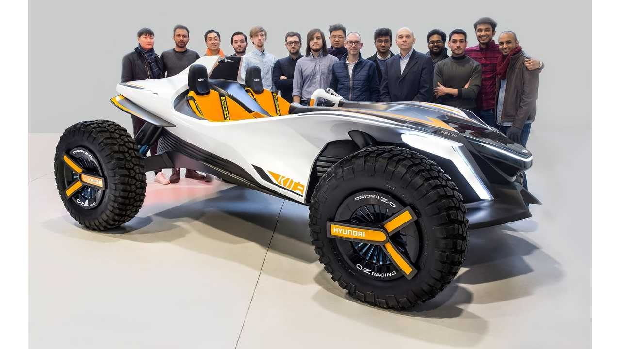 Hyundai Kite - Dune Buggy With Electric Propulsion