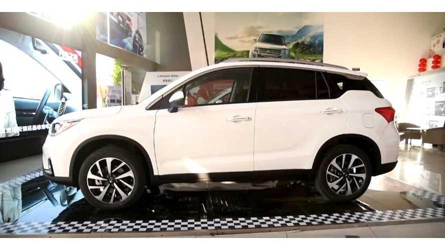 Mitsubishi Outlander PHEV Spawns In China As Eupheme