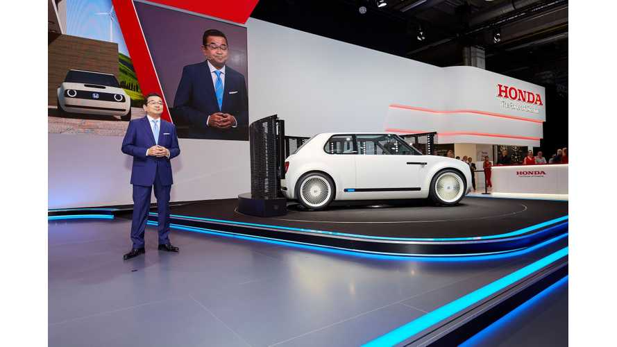 Honda Urban EV In Frankfurt Inspires Production Model In 2019 - Gallery/Videos