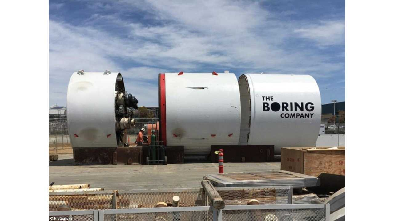 Boring Company Releases Map Of Its Tunnels Under LA