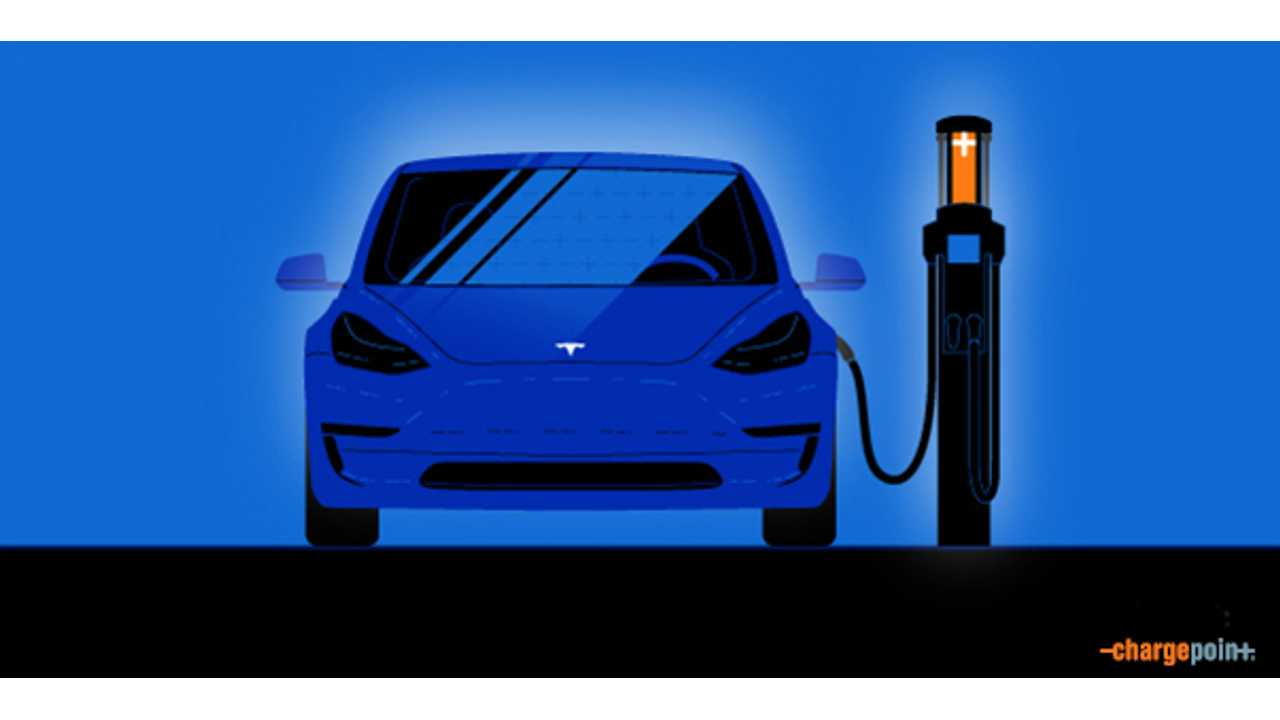 ChargePoint Releases Tesla Model 3 Charging Primer, Claims 80% Of Tesla ChargePoint Charges Have Been Free