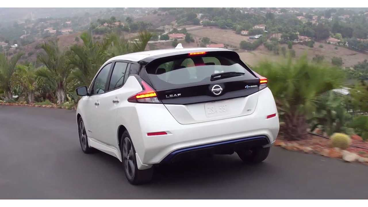 2018 Nissan LEAF Images Plus B-Roll Exterior And Interior Videos
