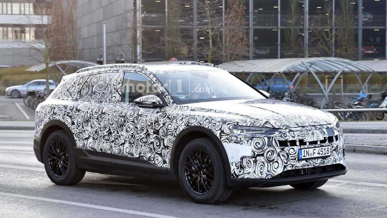 Audi E-Tron CUV Spied Out Testing