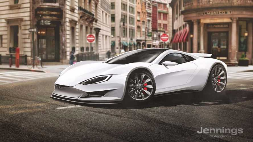 Tesla Supercar Rendered