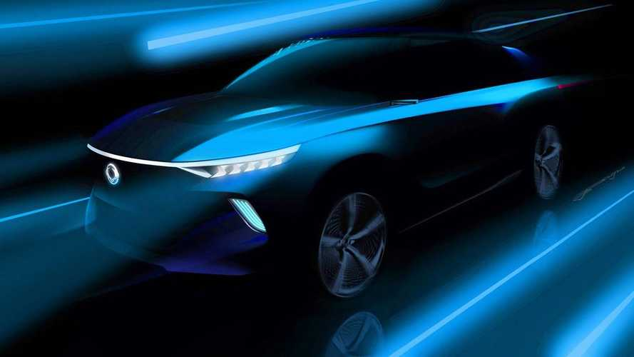 Ssangyong Electric Concept Previews Upcoming SUVs