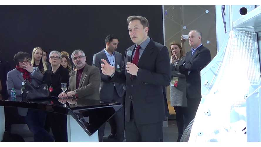 Elon Musk Answers Tesla Owners Questions At 2015 NAIAS - Video