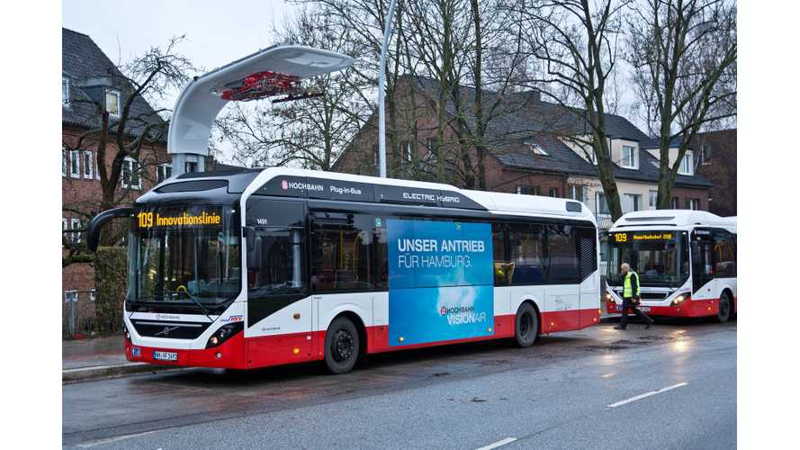 Volvo 7900 Diesel Electric Bus Now In Service