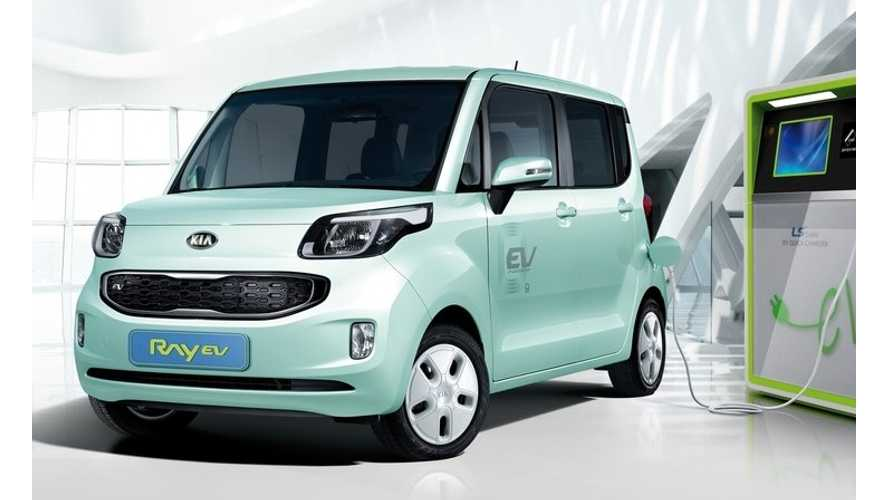 Bjorn Checks Out The 87-Mile Rated Kia Ray EV