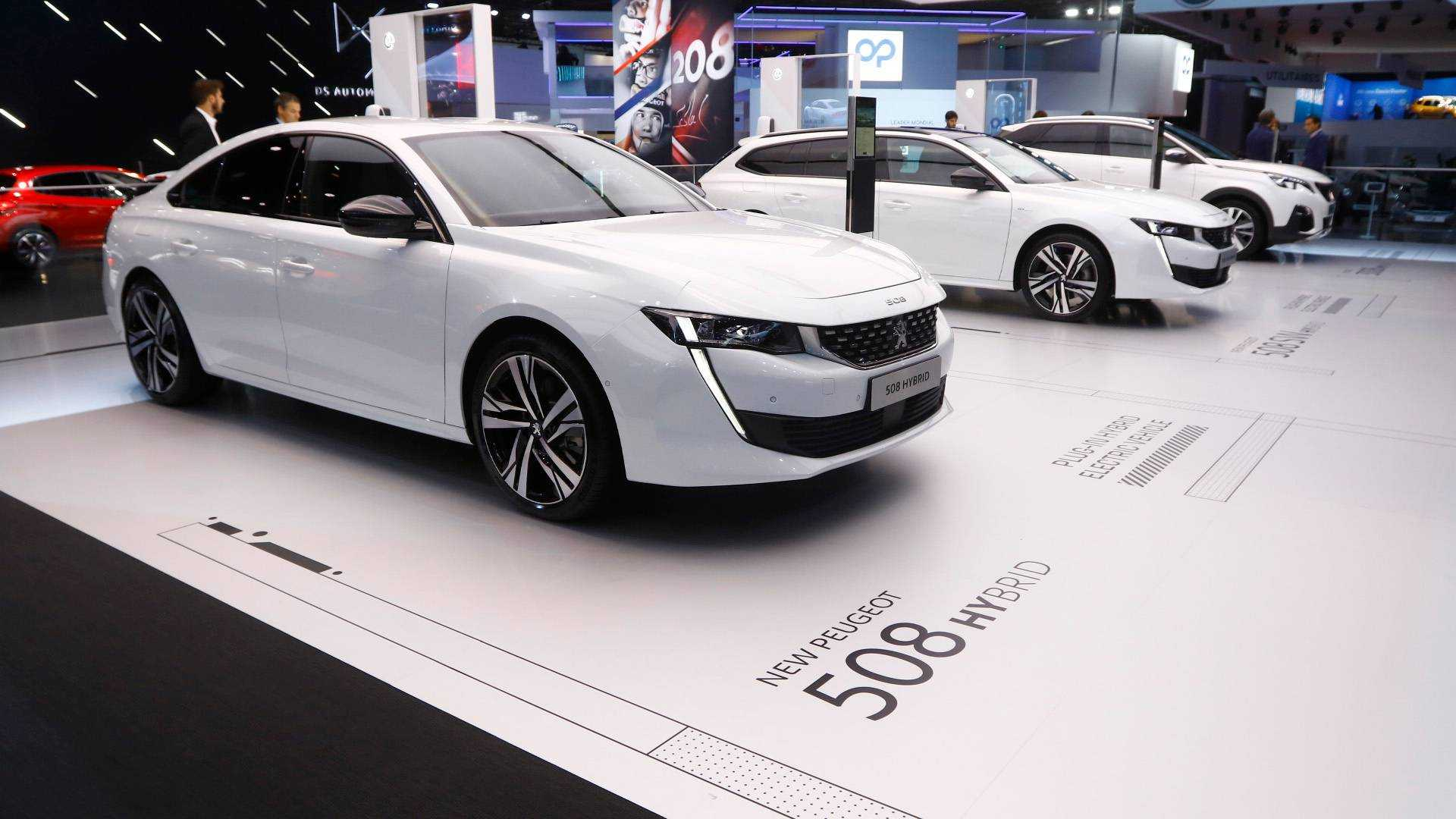 2019 Peugeot 3008 And 508 Plug In For Paris Motor Show