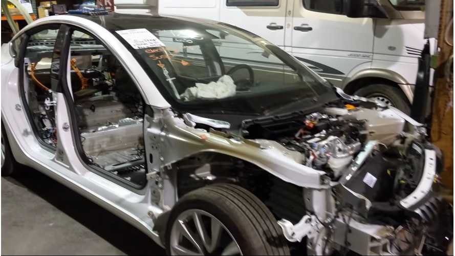 This Guy Can Fix Just About Any Tesla, Even If It's Totaled