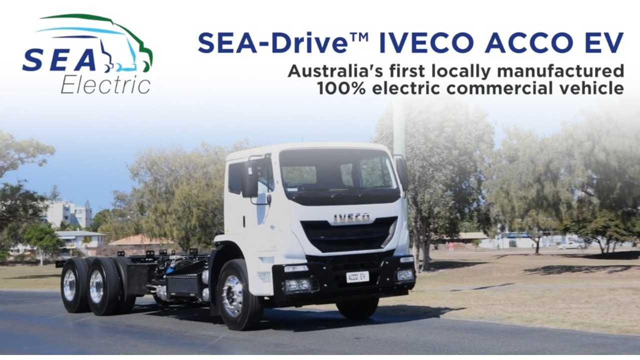 Iveco's Electric Acco Hits The Road In Australia