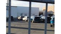 See Lot Full Of Audi e-tron SUVs Outside Of Factory
