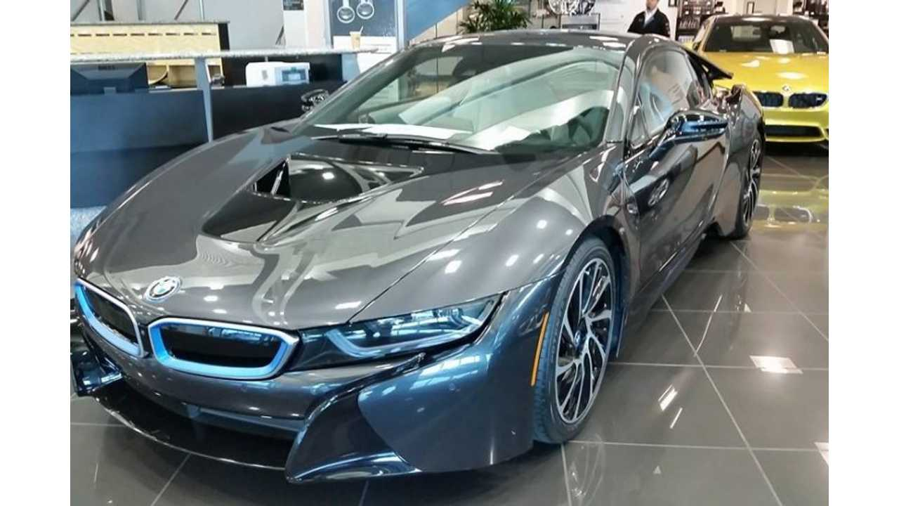 BMW i8 Sells For $247,450