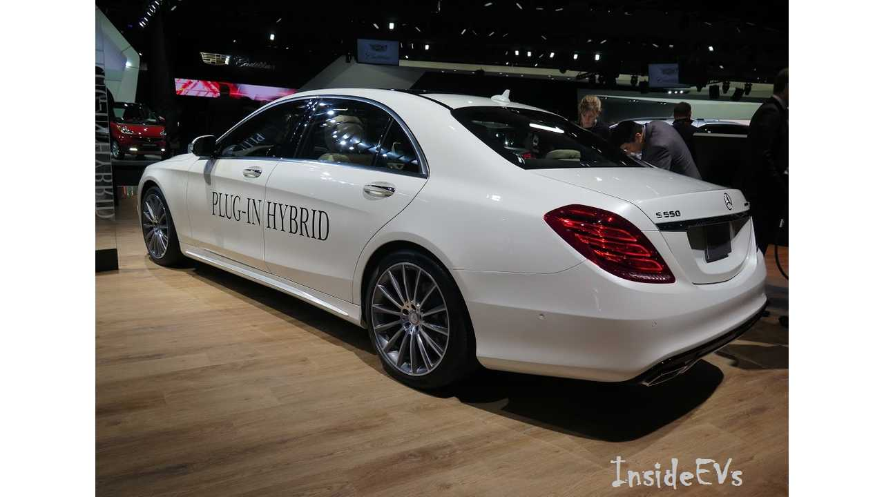 Mercedes-Benz S-Class Plug-In Hybrid: Image Credit: Tom Moloughney/InsideEVs