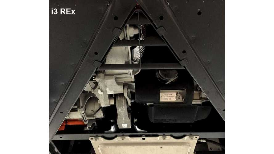 Underbody Of BMW i3 BEV Compared To i3 REx