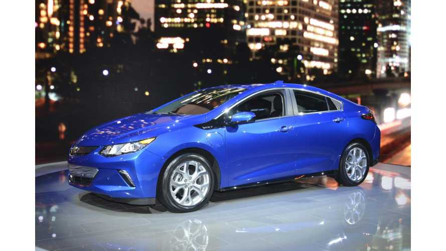 "Mashable: ""For A Starting Price Of $33,170,"" 2016 Chevrolet Volt Is ""Downright Brilliant"""