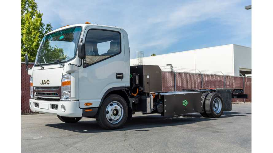 Efficient Drivetrains Introduces CNG-PHEV Class-4 Truck