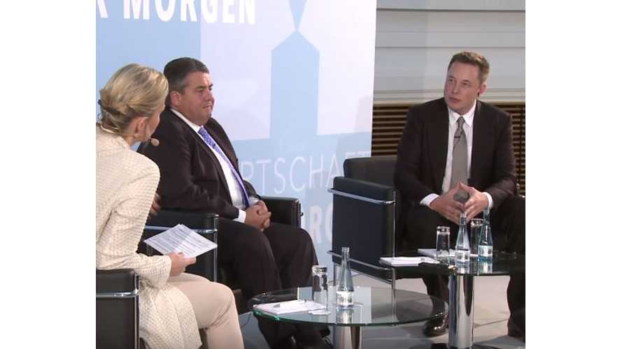 """Highlights From Elon Musk's """"Future Economy"""" Speech In Germany - Video"""