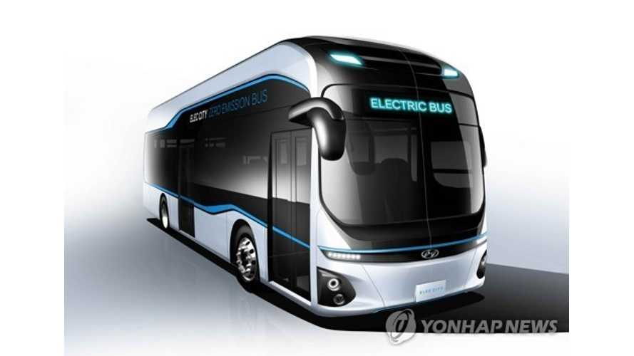 Hyundai Aims To Launch 180 Mile Electric Bus In 2018