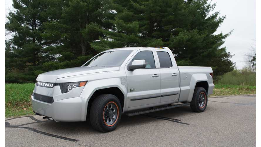 Workhorse W-15 Plug-In Electric Truck Test Drive Review