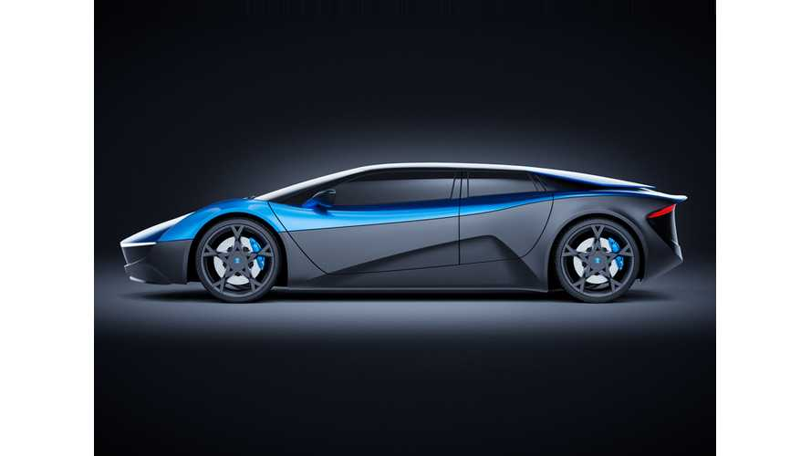 Swiss-Made Elextra EV Appears As Nio EP9 Rival