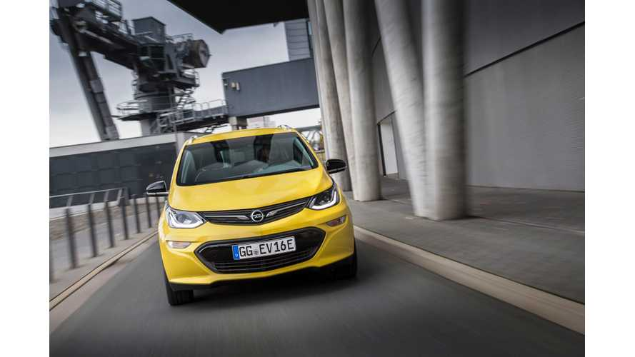 "With ""4 Digits"" Worth Of Pre-Orders, Opel Will Launch The Ampera-E In Norway In June"