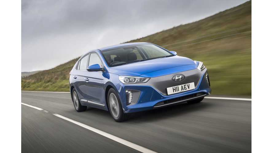 Hyundai IONIQ Electric To Go On Sale In U.S. This Week