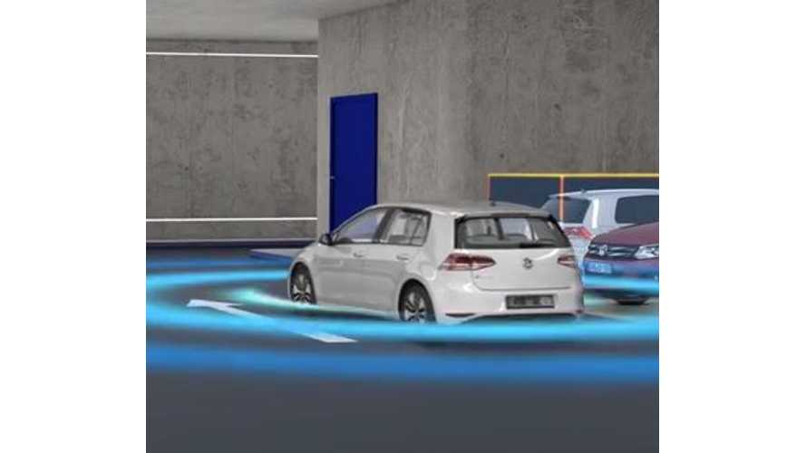 Volkswagen V-Charge - Automated Parking & Charging - Video