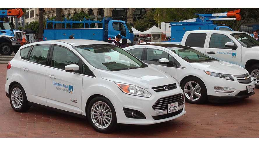 PG&E To Expand Electric Vehicle Fleet By 750 Plug-Ins