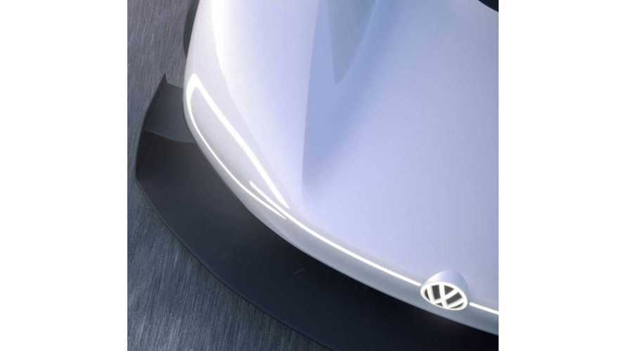 Volkswagen Teases Electric Pikes Peak Racer