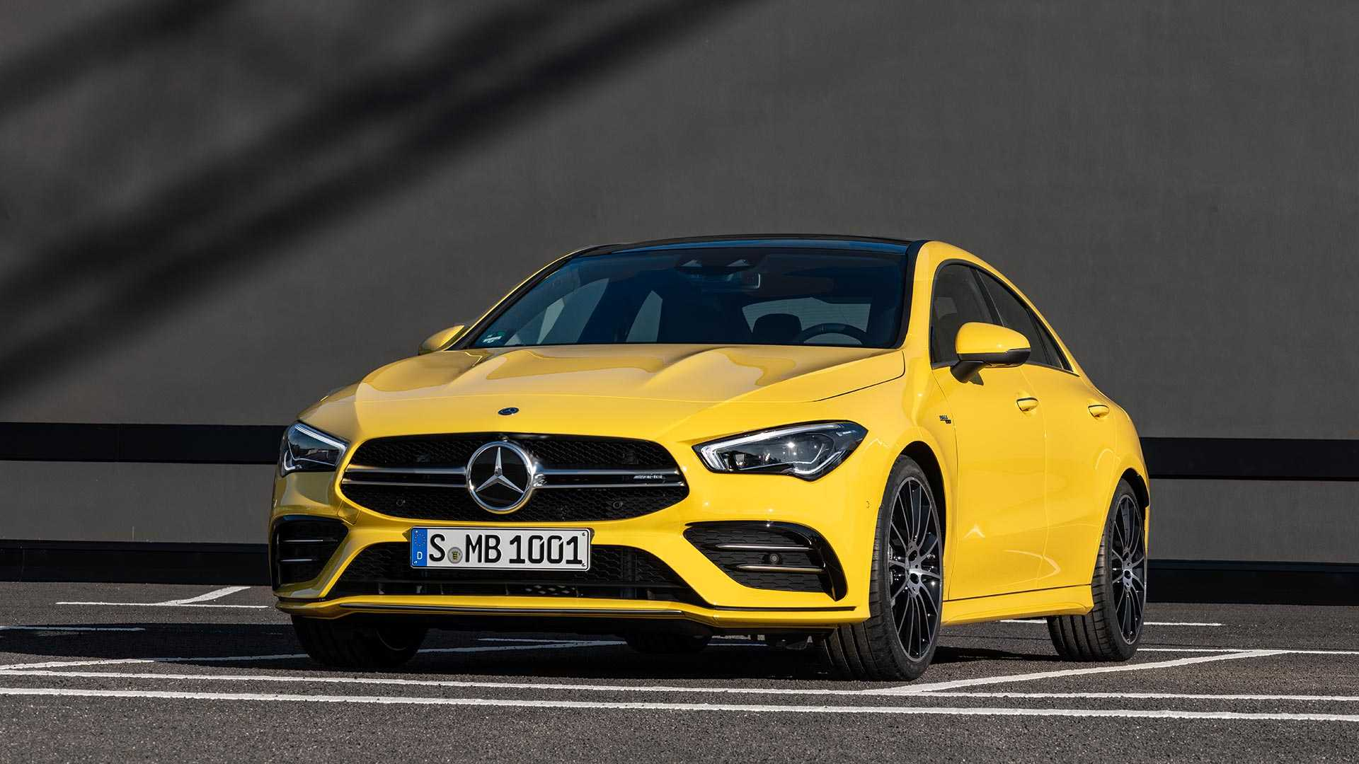 Get To Know The 2020 Mercedes Amg Cla 35 In Official Videos