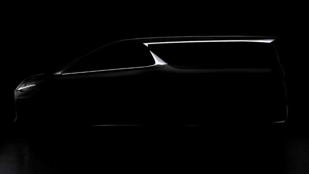 Lexus minivan teaser