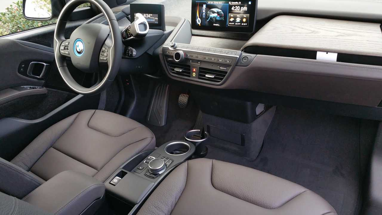 Interior Of The Bmw I3 Shown Here In Terra Show A Definitely Level