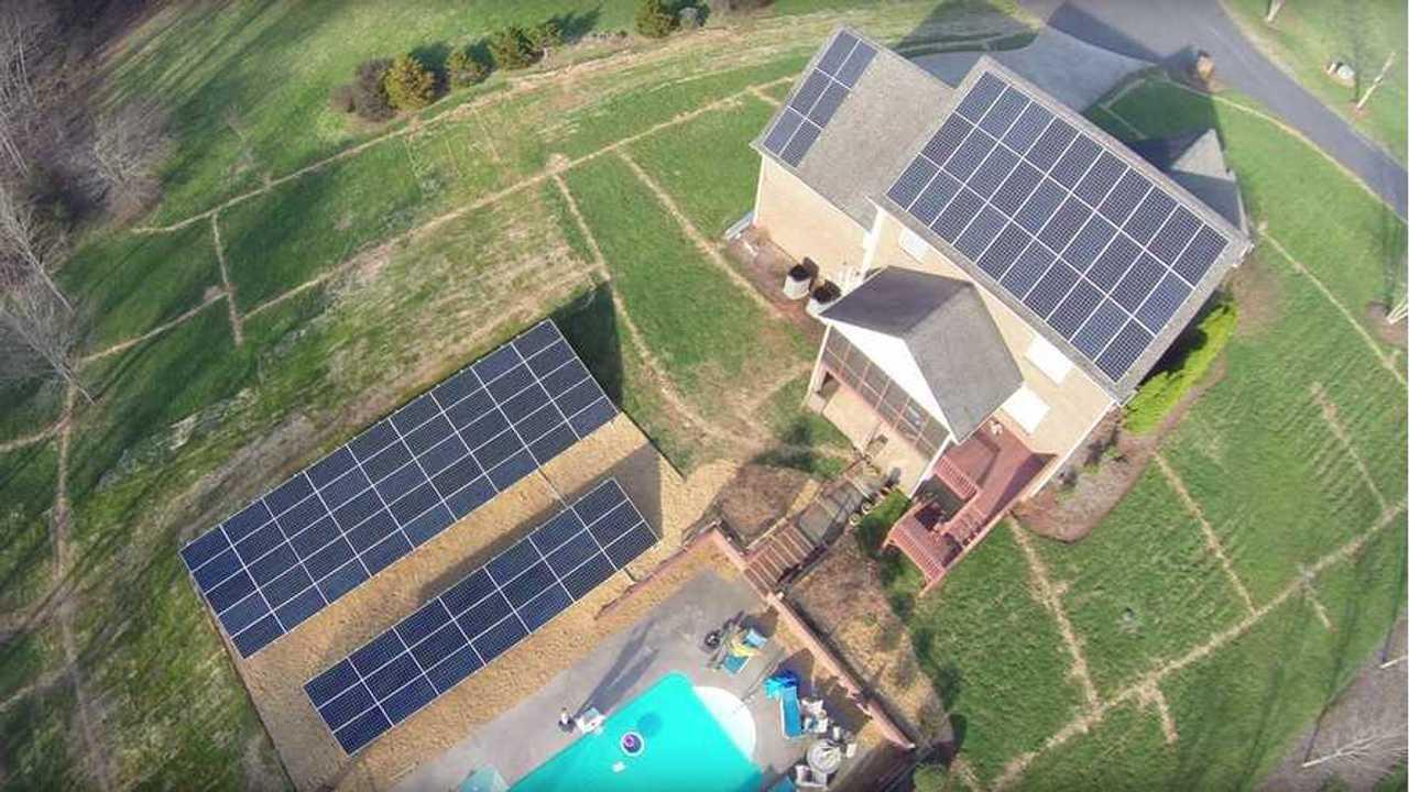 44.4 kW off-grid solar system - wk057