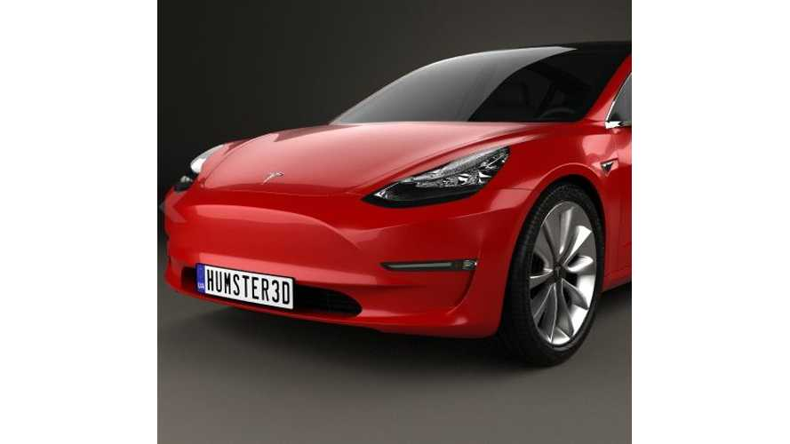 Tesla Model 3 In Stunning 3D (w/video)