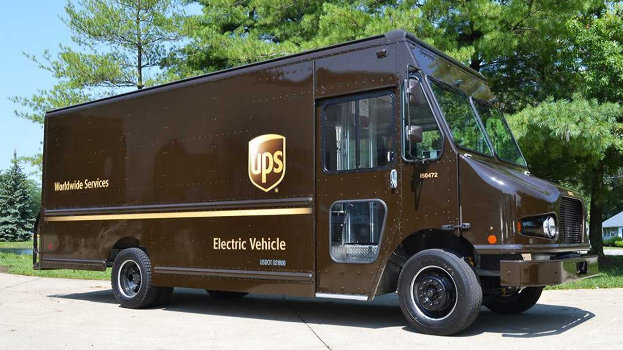 UPS Workhorse E-GEN Delivery Truck