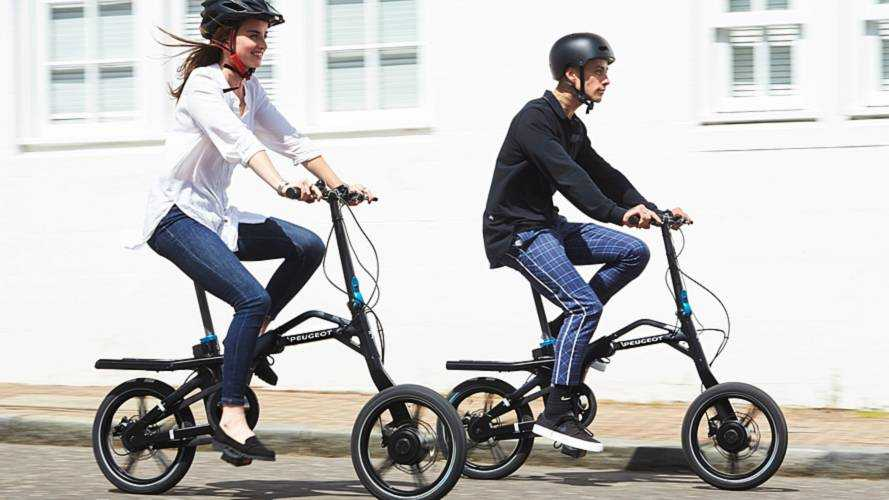 Peugeot eF01 Electric Bike Goes 25 Miles, Folds Up For Travel
