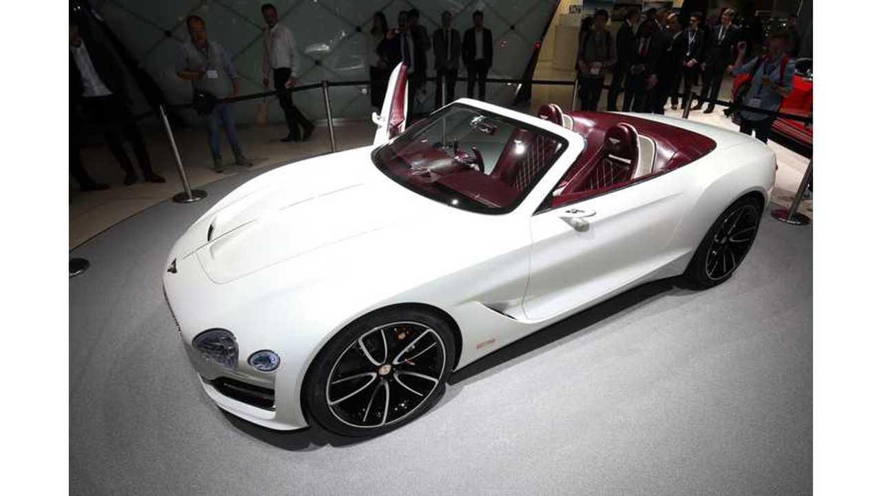 Electrified Bentley EXP 12 Speed 6e Concept Debuts At Geneva