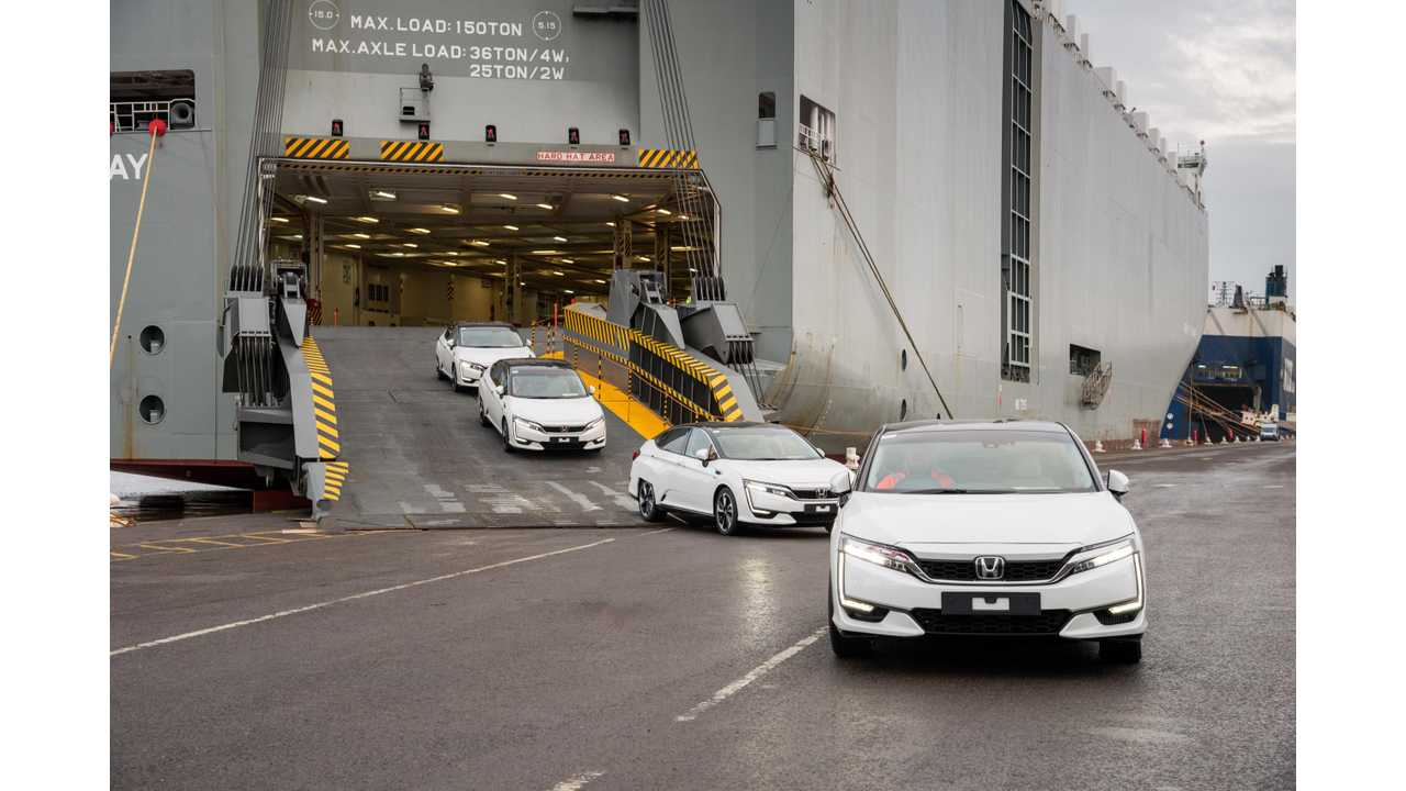 Honda Clarity Electric Now Arriving In Two States