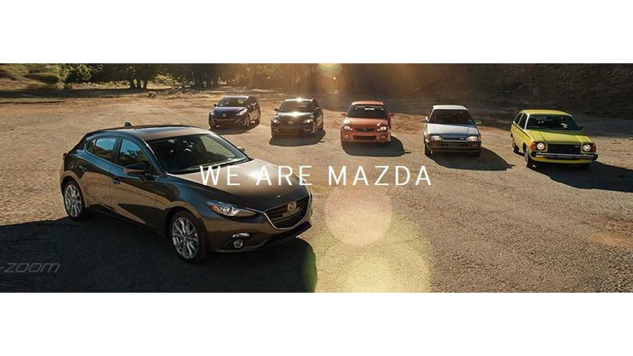 Mazda Says No To Electric, Yes To Diesel, Gas ... Etc.